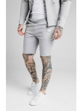 SIKSILK DUAL STRIPE POLY SHORTS