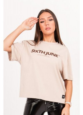 Printed T-Shirt Sand Sixth June