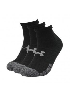 Under Armour Heatgear Locut Black Sock 3-Pack