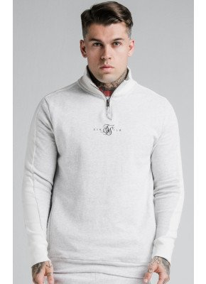 SIKSILK UNITE PANELLED QUARTER ZIP