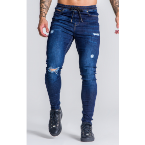 MediumBlue Jeans With GK Label Detail OFS_NS
