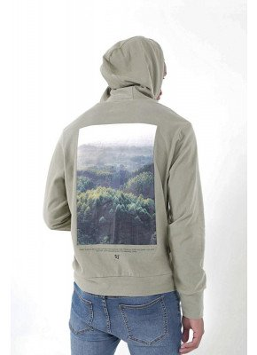 HOODIE W/ FOREST BACK PRINT
